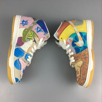 Nike SB Zoom Dunk High What The Thomas Campbell Limited Ice Jade Sail Sneakers