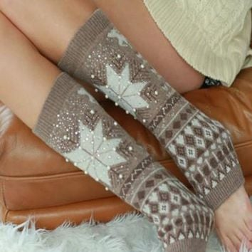 Winter Wonderland Leg Warmers - 5 Colors FINAL SALE!