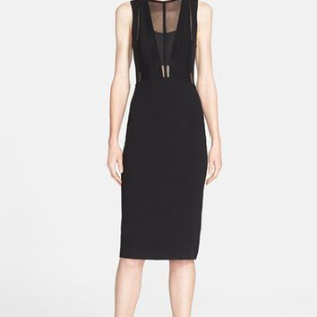 Women's Narciso Rodriguez Sleeveless Sheath Dress,