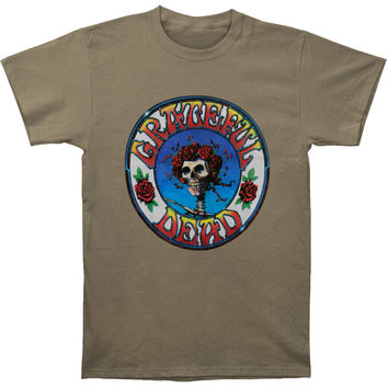 Grateful Dead Men's  Bertha T-shirt Grey Rockabilia