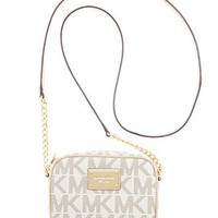 MICHAEL Michael Kors Handbag, MK Logo Crossbody - Shop All - Handbags & Accessories - Macy's