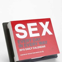 Sex Everyday 2015 Desk Calendar- Red One