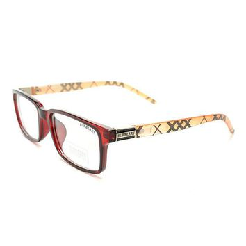 One-nice™ Perfect Burberry Women Edgy Optical Clear Lens Fashion Brand Designer Eyeglasses Glasses