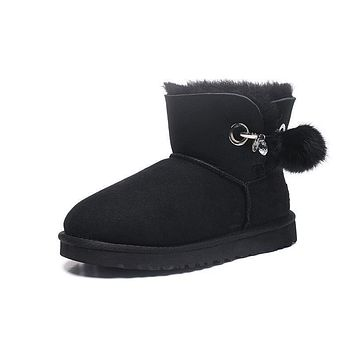 Best Deal Online Fashion UGG LIMITED EDITION CLASSICS Boots Women Shoes 1017501 Black