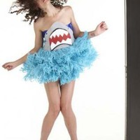 Party Dress - SHARK YARN DRESS | UsTrendy