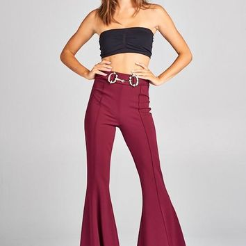 Belkin High Waist Stretch Bell Bottom Pants