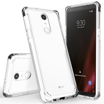 Surge Case by CLICK CASE for LG Stylo 4 - Thin Dual Layered Cover with Heavy Duty Protection
