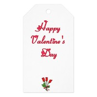 Happy Valentine's Day Gift Tags