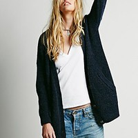 Free People Womens Boyfriend's Embrace Cardigan
