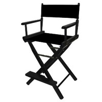 Counter-Height Director's Chair - Black Frame