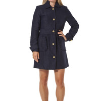 Carried Away Coat Navy - Sail to Sable