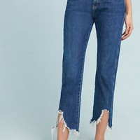 M.i.h Cult High-Rise Straight Cropped Jeans