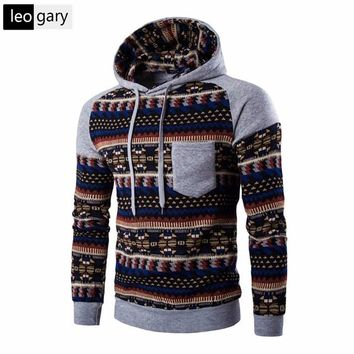 Autumn Winter Hoodies Men Raglan Sleeve Brand Hoodie Sweashirts National Style Patchwork Colour Sweatshirt Men Slim moletom