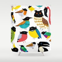 Ravens! Shower Curtain by Chragokyberneticks