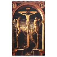 The Crucifixion of Jesus by Vincenzo Foppa - 1456 Banner