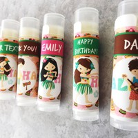 Luau Custom Lip Balm – Free Customization