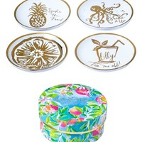 Lilly Pulitzer® Set of 4 Coasters | Nordstrom