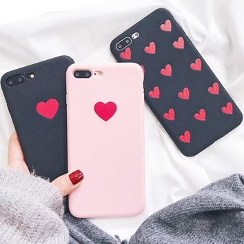 Cute Heart Phone Cover