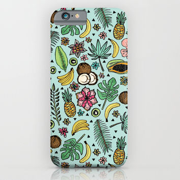 Tropical Fiesta iPhone & iPod Case by Tangerine-Tane