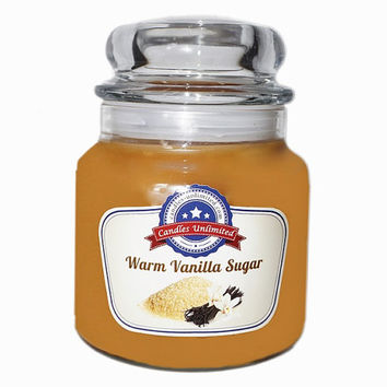 Warm Vanilla Sugar - Soy Blend Container Scented Candles