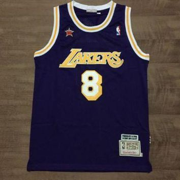 PEAPJ3V LA Lakers #24 Kobe Bryant 1998 All Star Swingman Jersey