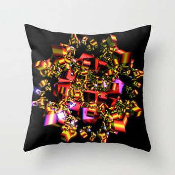Wrap It Up Throw Pillow by Brian Raggatt    | Society6