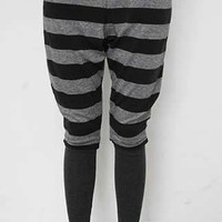 @Free Shipping@ Ladies Cotton Stripe Legging One Size HYL952435 from Voguegirlgo