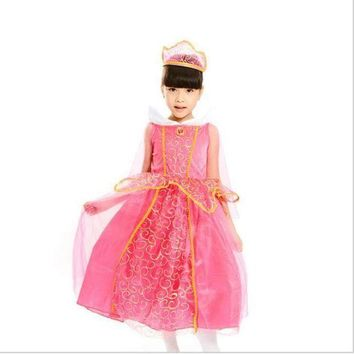 ESBON High-Grade Children's Princess Dress Flower Girl Dress Children Costume Sequins