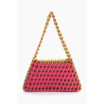 Popsicle Rainbow Trap Trapezoid Bag - Pink