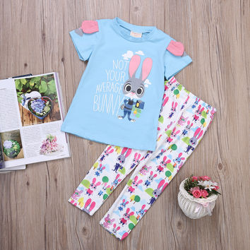 Toddler Rabbit Pajamas