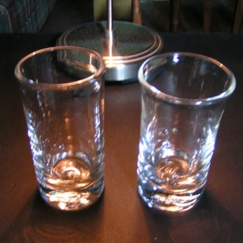 Vintage Simon Pearce Handblown Highball Glasses (Set of 2) from 1st U.S. Location in Quechee, VT
