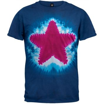 Star - Tie Dye T-Shirt - X-Large