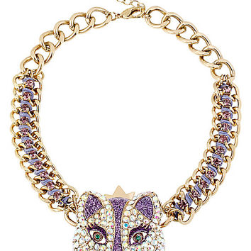 IMPERIAL FOX PRINCESS NECKLACE PURPLE