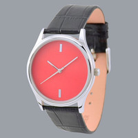 Simple Watch (Red)