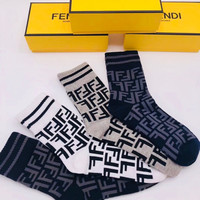 FENDI FF Socks - Boxed