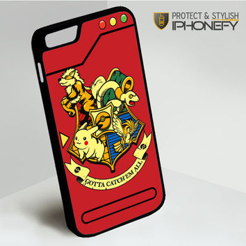 Harry Potter Pokemon iPhone 6 Case|iPhonefy