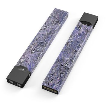 Skin Decal Kit for the Pax JUUL - Abstract Wet Paint Purples v3