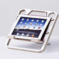 ergoRIZER - Ergonomic Stand for iPad, laptop, notebook, tablet, kindle and book holder.