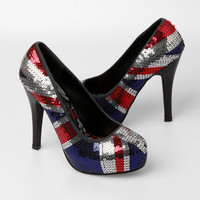 Iron Fist Jacked Up Platform Heels