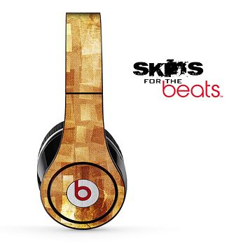 Abstract Orange Skin for the Beats by Dre Solo, Studio, Wireless, Pro or Mixr