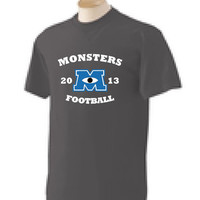 Monster University Football Shirt