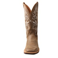 Twisted X Womens Bomber Leather Top Hand Cowboy Boots