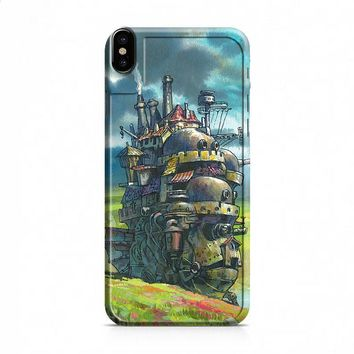 Howls Moving Castle 2 iPhone X case