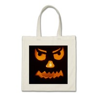 Pumpkin Ghost Tote Bag
