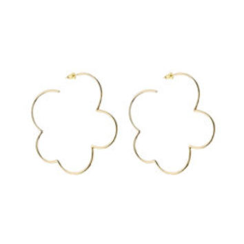 Gold Plated Sterling Silver Earrings - Simone Rocha | WOMEN | US STYLEBOP.COM