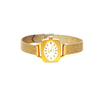 Vintage Russian Gold Plated Lady's Watch SEKONDA