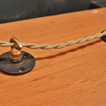 Industrial Wireway Hook - for hanging pendants, or securing cord to ceiling or wall
