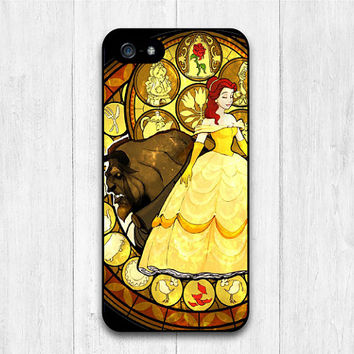 Beauty And The Beast iPhone 5 case, Disney iphone 5s case, cover skin case for iphone 5 5g 5s cover