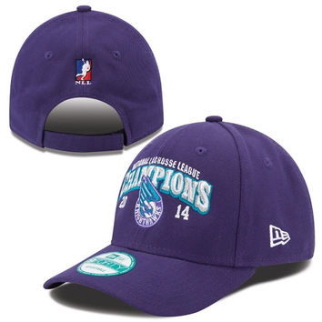Rochester Knighthawks New Era 2014 National Lacrosse League Champions 9FORTY Adjustable Hat - Purple
