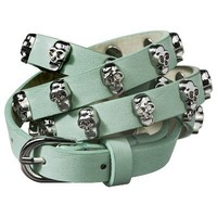 Mossimo Supply Co. Skull Stud Skinny - Mint